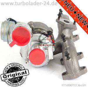 VW Touran 1,9TDI Turbolader 74kw AVQ Turbocharger 751851-5004S NEU NEW