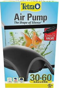 Tetra Whisper Silent Air Pump For 30-60 Gallons Water Aquarium Fish Tank Filter