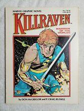 KILLRAVEN Warrior of the Worlds - TPB Graphic Novel #7 - 1983 Marvel - VF/NM