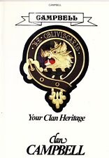 Scotland/Clan Heritage: CLAN CAMPBELL & CLAN MACPHERSON-2 booklets by A. McNIE