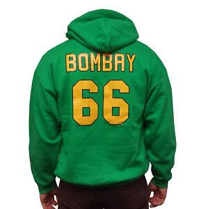 Gordon Bombay Mighty Ducks Movie Jersey Hoodie Coach Costume Hockey Sweatshirt