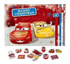 Calendrier de L'Avent Disney Cars Calendrier de Noël Rempli