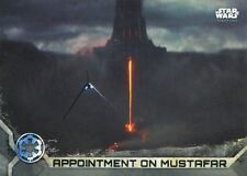 Star Wars Rogue One Series 2 Gray Base Card #36 Appointment on Mustafar