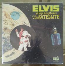 "ELVIS PRESLEY Aloha From Hawaii Via Satellite 2x 12"" Vinyl LP Set, RCA VPSX-6089"