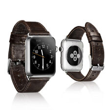 c9f97f93a99 Genuine Leather Watch Strap Watch Band for iWatch Apple Watch 3 2 1 42mm  38mm