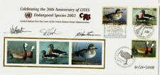30th Anniversary of CITES United Nations Endangered Species 2003 FDC