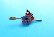 1935. FISA EUROPEAN ROWING CHAMPIONSHIP Berlin Germany vintage enamel pin RUDERN