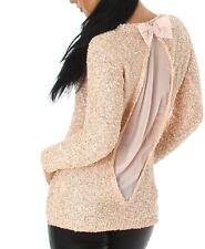 143227dd2d maglia paillettes in vendita - Maglioni e cardigan | eBay