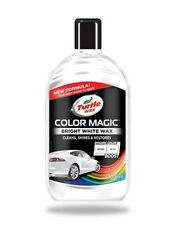 Turtle Wax Color Magic BRIGHT WHITE Car Polish Paint Scratch Restorer