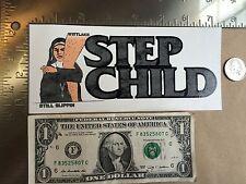 Step Child Black Flag Nun Still Slippin Snowboards Sticker Decal Free Shipping