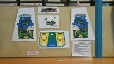New decals for vintage coleco electronic mini arcade  table top galaxian game