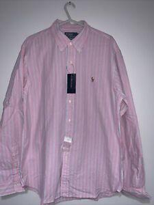 Polo By Ralph Lauren Slim Fit Long Sleeve Shirt Size XXL   BNWT