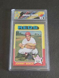 1975 Topps #260 Johnny BenchTGT 7.5 Mint+