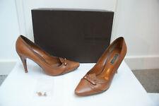 Escarpins cuir marron Louis Vuitton - P.36,5