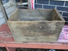 Winchester Western Small Arms Wooden Ammo Box Shot Gun Repeater Shells Usa