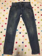 Men's William Rast Taper Size 29 x 32 Medium wash Denim Jeans
