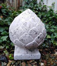 Gartendeko Cônes PINS Cônes Statue Jardin Antique style terre cuite hauteur 31 cm NEUF