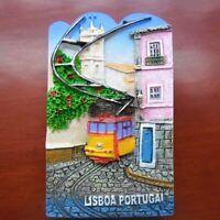 Portugal Lisbon  Fridge Magnet Refrigerator Landscape Gift Home Kitchen Decor