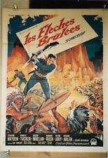 """""""Les Flèches Brûlées"""" S. Hayden, F. Tucker ...1951 - 120x160 - TTB"""