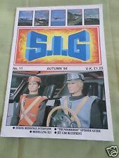 S.I.G - GERRY ANDERSON FANZINE MAGAZINE  - # 11 - AUTUMN  1984
