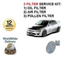 FOR TOYOTA ALTEZZA 2.0i IMPORT 1998-2005 OIL AIR POLLEN (3) FILTER SERVICE KIT