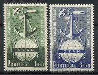 Portugal 1952 Mi. 778-779 Neuf ** 100% Le traité de l'Atlantique Nord, OTAN
