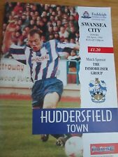 Huddersfield Town v Swansea City  - Division 2 - 1994/95