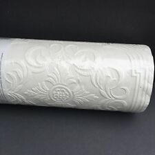 Super Fresco PAINTABLE Textured Vinyl Wall Covering Classic Tile 1 Roll NOS