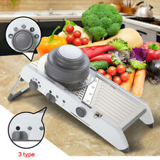Légumes tomate concombre oignon trancheuse machine Manuel Fruit Cutter Chopper New