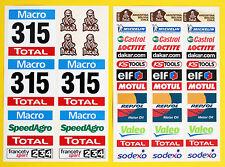Rc Grande 5 Escala Dakar camión de carrera Estilo lamintaed Stickers Calcomanías