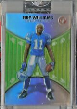 2004 Topps Pristine Football Roy Williams Sealed Refractor Rookie Card # 215/499