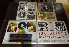 Michael Jackson Collector Discs X4 Memorabilia Fan Club Exclusives Rare
