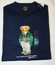New Men's Polo Ralph Lauren Varsity Polo Bear Limited Edition T-Shirt XLT Tall