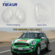 Pair Headlight headlamp Clear Cover shell For lampshade MINI Cooper R60 11-16