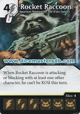 Rocket Raccoon Smartest Mammal In The D' Ast Galaxy #126 - Dice Masters