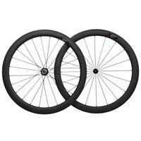700C 50mm 25mm Carbon Wheelset Clincher Road Bike wide UD Matt R13