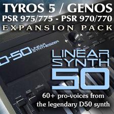 D50 - Expansion Pack for Yamaha Arrangers (Genos Tyros 5 SX900/700 PSR 975 etc)
