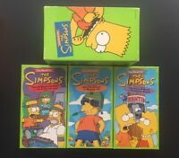 The Best of the Simpsons - Box Set 1 (VHS, 1997) 3-Tape Set Fan Gift Homer Bart