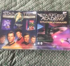 Vintage Star Trek Interplay computer games lot. Factory sealed. 1997. Win95/98