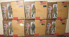 Set de 6 figurines US Paratrooper WWII 1/18 JSI