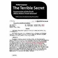 """The Terrible Secret: Suppression of the Truth about Hitler's """"Final Solution"""" (P"""