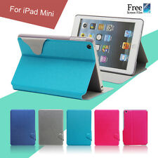 Pu Leather Wallet Smart Cover Case for Apple iPad mini 3 2 1