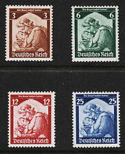 OPC 1935 Germany Return of Saar Set Sc#448-451 MNHVF Original Gum 10266