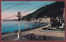 BRESCIA TOSCOLANO MADERNO 05 LAGO di GARDA Cartolina viaggiata 1922
