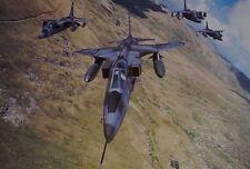 After The Battle J14 Sepecat Jaguar GRI No.6 Squadron Royal Air Force  Postcard