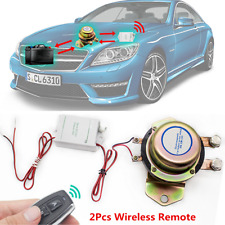DC 12V Car Auto Remote Control Battery Switch Disconnect Anti-theft Master Kill