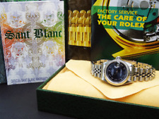 ROLEX - Ladies White Gold & Stainless DateJust Blue Roman 79174 - SANT BLANC