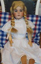 Seltene Antike Kestner Puppe 79 cm groß mit alter Kleidung