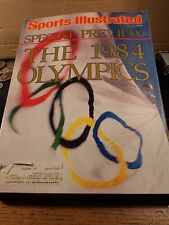 IN EXCELLENT CONDITION JULY,1984 SPORTS ILLISTRATED SPECIAL PREVIEW OF 1984 OLYM