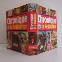 Chronique de la Révolution française 1788 1799 Larousse J. LEGRAND 1989 N3922